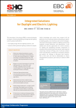 Factsheet: Integrated Solutions for Daylight and Electric Lighting